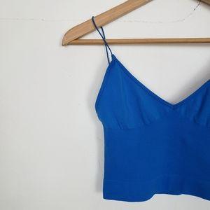 Free People Intimately Cobalt Blue Bralette